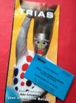 Eintrittskarte und Flyer Triadisches Ballett